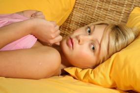 причёска, лицо, розовый, портрет, взгляд, красотка, блондинка, модель, девушка, Sylvia
