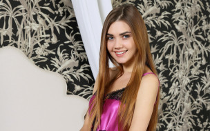 макияж, взгляд, стройная, красотка, поза, крашеная, шатенка, модель, девушка, Susza K, Polina Kadynskaya