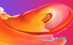3д графика, абстракция , abstract, цвета, волна
