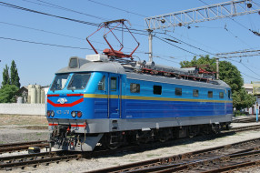 ЧС2, Электровоз, локомотив, рельсы