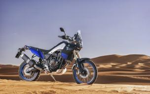 супербайки, японские мотоциклы, внедорожный, пустыня, tenere 700, yamaha
