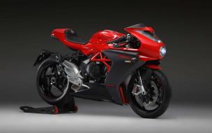 2020 mv agusta superveloce 800, мотоциклы, mv agusta, итальянские, супербайк, студия, подставка