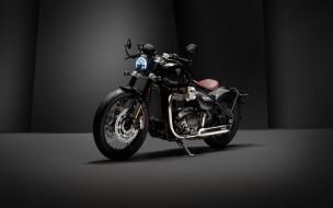 2020 triumph bonneville bobber tfc, мотоциклы, triumph, bobber, bonneville, 2020, мотоцикл, студия, tfc