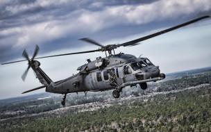 военные вертолеты, ввс сша, 4k, pave hawk, hh60, sikorsky