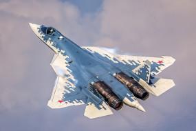 su-57, авиация, боевые самолёты, ввс