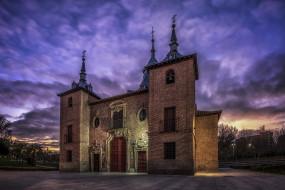 города, - исторические,  архитектурные памятники, испания, архитектура, здание, мадрид, церковь