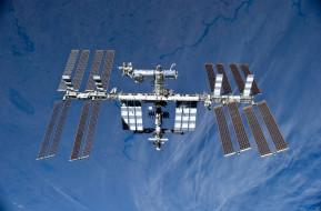 космос, космические корабли,  космические станции, земля, планета, станция