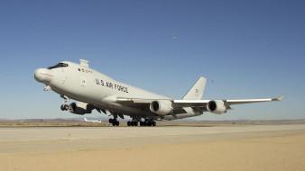 boeing yal-1, авиация, авакс,  дрло,  разведывательные самолёты, экспериментальный, боевой, самолет, бортовой, лазер, boeing, 747-400f