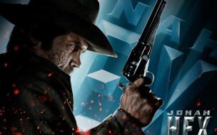 ковбой, искры, пистолет, шрамы, шляпа