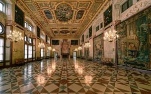 обои для рабочего стола 1920x1200 интерьер, дворцы,  музеи, светильники, паркет, sala imperiale, la kaisersaal