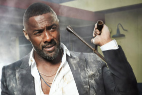 Idris Elba, пиджак, грязь, ключ
