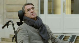 инвалид, шарф, коляска