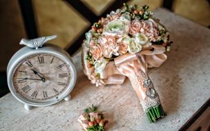 свадебный, букет