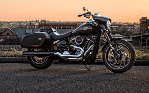 2020 harley-davidson sport glide, мотоциклы, harley-davidson, glide, harley, davidson, sport, экстерьер, американские, софтбол, мотоцикл, черный, 2020