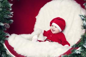 малыш, праздник, новый год