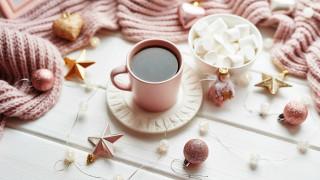 кофе, маршмеллоу, шарики