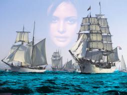 люблю*тебя*, море, корабли, парусники