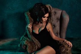 Kira Petrova, девушка, модель, брюнетка, красотка, стройная, поза, взгляд, макияж, флирт, сексуальная, Кира, Петрова