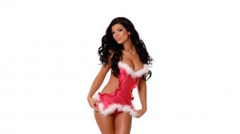 снегурочка, красивая девушка, новый год, праздник