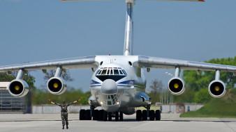 авиация, военно-транспортные самолёты, ил, 76