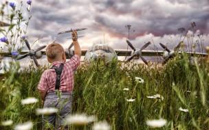 авиация, другое, трава