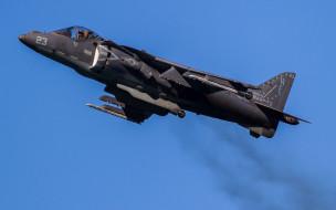 mcdonnell douglas av-8b harrier ii, авиация, боевые самолёты, вертикальный, взлет, и, посадка, штурмовик, ввс, сша, военные, самолеты