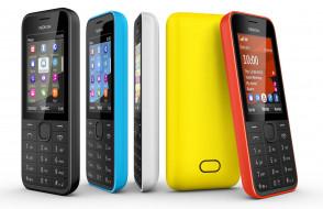 пластик, Series 40, nokia 208, мобильный телефон