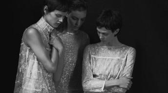 блестки, модели, Saskia de Brauw