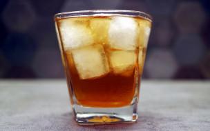 коктейль, лед