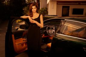 александра даддарио, фотосессия, 2019, jaguar xj collection se, max montgomery, знаменитости, американская актриса, александра анна даддарио