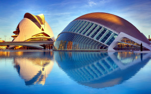 city of arts and sciences, города, валенсия , испании, city, of, arts, and, sciences