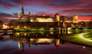 wawel castle, города, краков , польша, wawel, castle