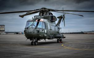 agustawestland aw101 merlin, авиация, вертолёты, аэродром, военные, вертолеты, ввс, сша, военно-транспортный, вертолет, agustawestland, aw101, merlin