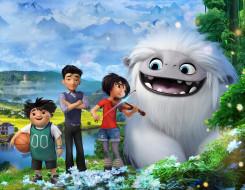 abominable , 2019, мультфильмы, китай, сша, персонажи, мультфильм, эверест