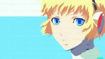 аниме, persona, лицо, взгляд, девушка, 3, aigis