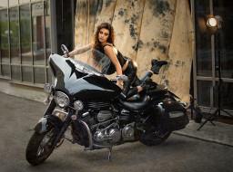 мотоциклы, мото с девушкой, дарья, дунич