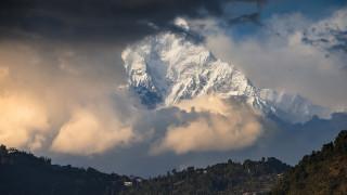 природа, горы, непал, гора, мачапучаре