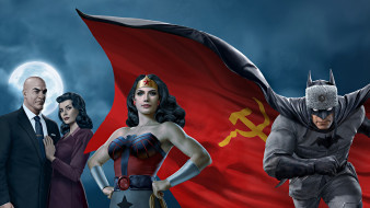 superman,  red son , 2020, мультфильмы,  red son, red, son, сша, мультфильм