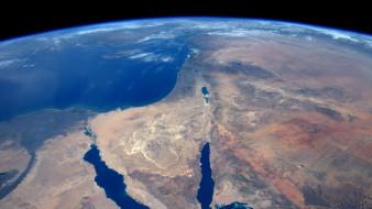 космос, земля, сирийская, пустыня, синай