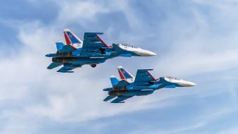авиация, боевые самолёты, су-30см