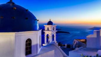 города, санторини , греция, имеровигли