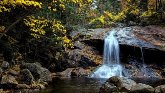 обои для рабочего стола 2133x1200 природа, водопады, вода, поток, водопад