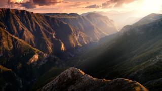 природа, горы, босния, и, герцеговина, каньон, реки, ракитница