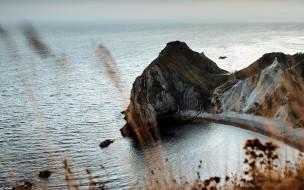 природа, побережье, море, скалы