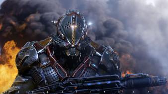фэнтези, роботы,  киборги,  механизмы, робот, оружие, броня