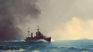 корабли, рисованные, hms, galatea
