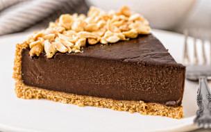 еда, торты, шоколадный, орехи, торт