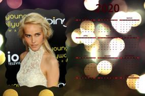 календари, девушки, 2020, calendar, девушка, знаменитость, женщина