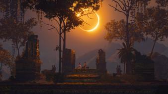 Shadow of the Tomb Raider, затмение, Eclipse