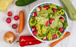 еда, салаты,  закуски, овощи, салат